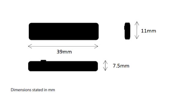 Omni Id Prox Fi Dimensions