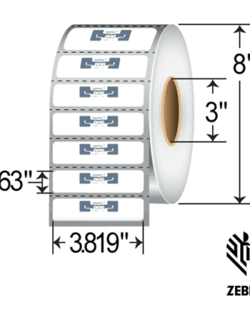 Zebra DogBone RFID Label