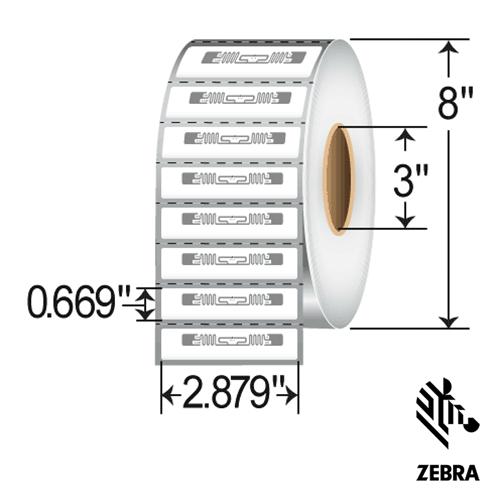 Zebra Belt RFID Label