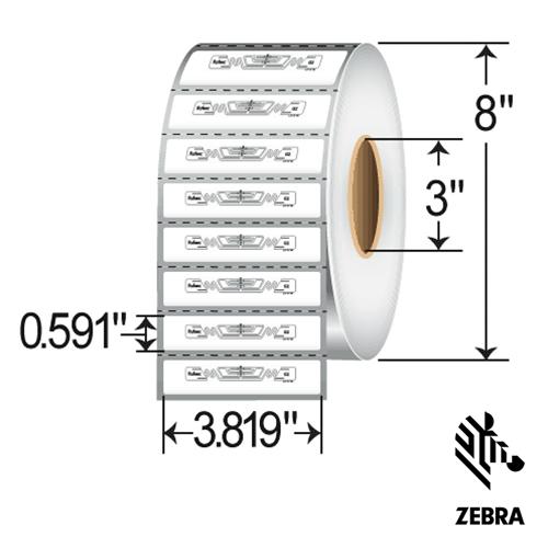Zebra ShortDipole RFID Label