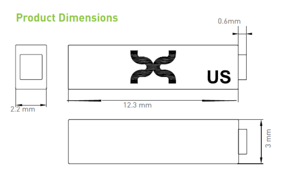 Dash iN & On Product Dimensions
